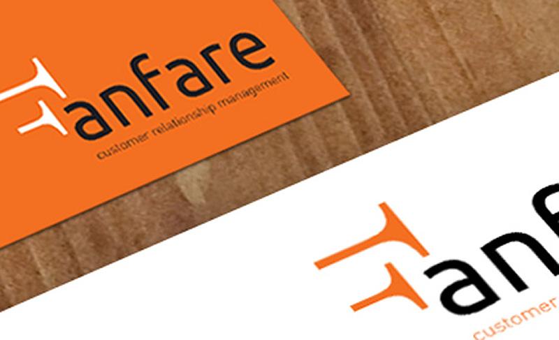 Fanfare logo branding design