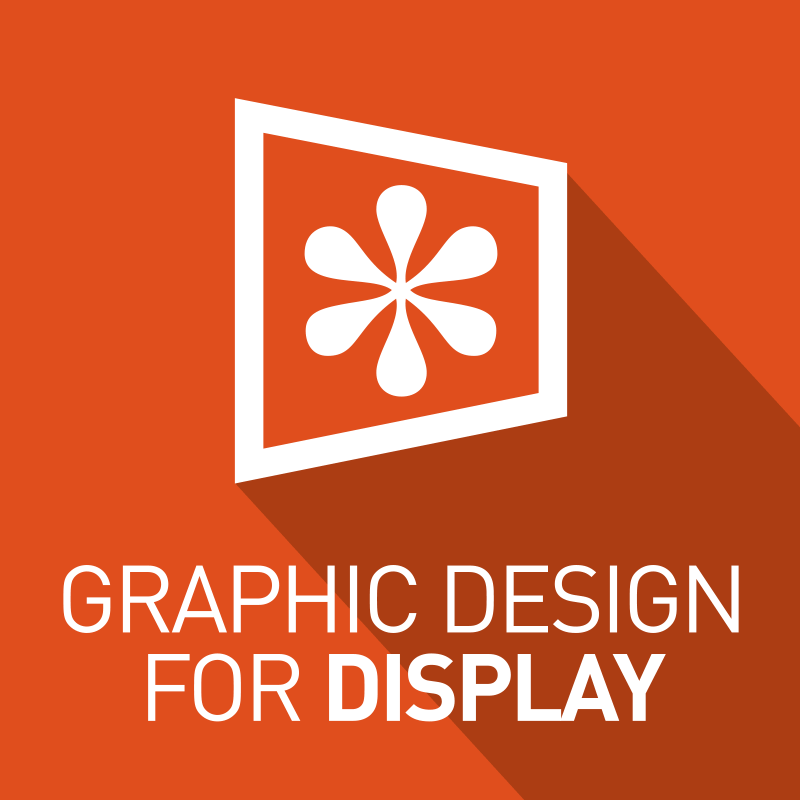 graphic design for display