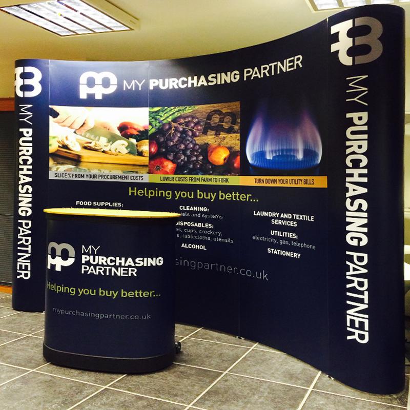 portable display designers hertfordshire