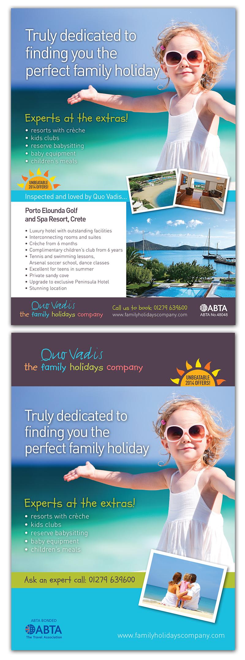 holiday company advertising