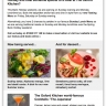 New email marketing campaign for Oxford restaurant